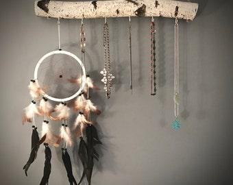 White Birch Jewelry Hanger