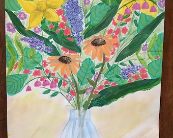 Fresh Wildflower Bouquet