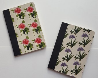 A6 Floral Notebook