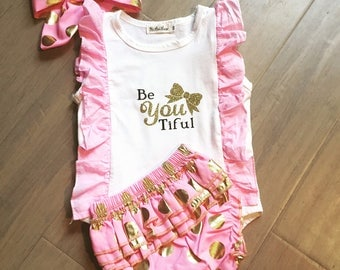 personalized baby clothes, baby girl outfit, baby girl clothes, beautiful bodysuit, baby girl onesie, baby shower gift, pink onesie