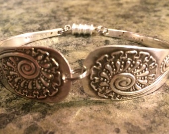 Antique Sterling Silver Spoon Bracelet