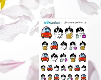 Planner Stickers Errands Emoji Hmonggirl
