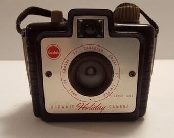 Vintage Eastman Kodak Brownie Holiday Camera Made in Canada