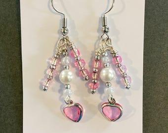 Sweetheart Glow earrings