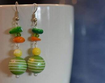4th pair of Lorraine's Earrings in the Summer Series
