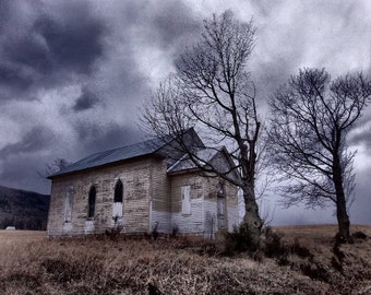Rustic Church Photography, Church Photography, Rustic Church, Rustic Photography, Abandoned Places Photography, Abandoned Church, Rustic Art