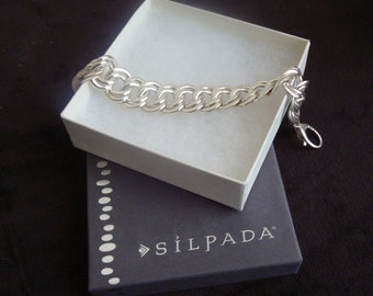 SILPADA filigree chunky bracelet, Silpada Collectors item