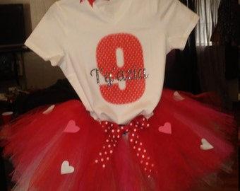 Personalized tutu outfits and accessories