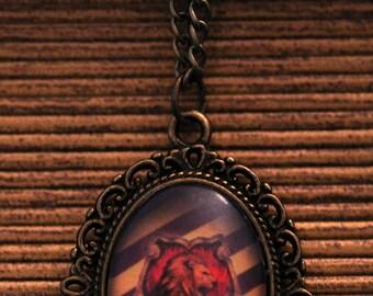 Harry Potter Gryffindor Necklace