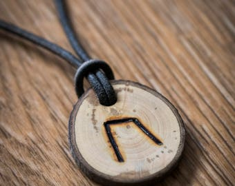 Viking 'Strength' Rune Necklace