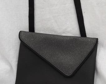 """""""Isabella"""" Pouch Black and silver"""