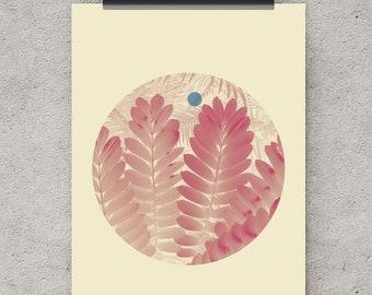 Foliage Print, Digital Download, Garden Art, Wall Art Prints, instant download, Digital Print, Wall Art Download, Digital Art Poster