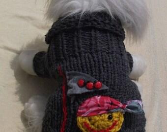 Wool dog jumper