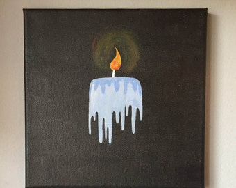 Melting Candle