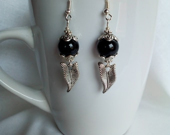 Metal Silver earrings