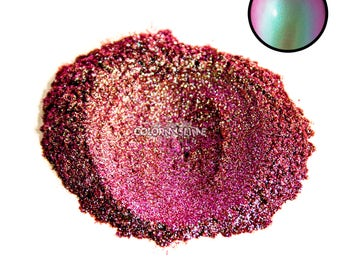 Galactic Color Changing Color Shift Powdered Pigment for Slime Nailpolish Crafts Makeup