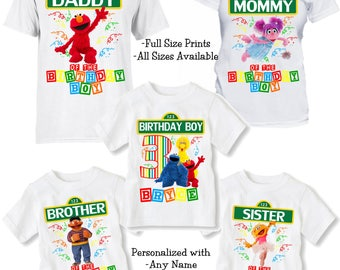 Sesame Street Shirt - Sesame Street Birthday Shirts - Matching Birthday Party Shirts