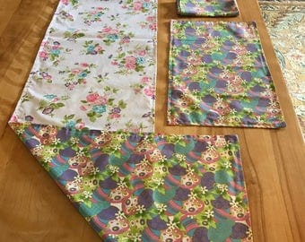 Easter/Spring table linen set