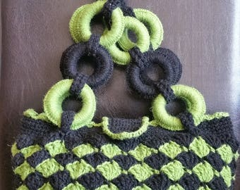 Spring! Weekend! Crocheted Purse!