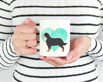Bernese Mountain Custom Dog Coffee Mug. Personalized Dog Lover or Owner Gift. PLEASE Read ITEM DETAILS Before Ordering