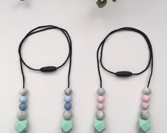 SPRING // Silicone Teething  Necklace