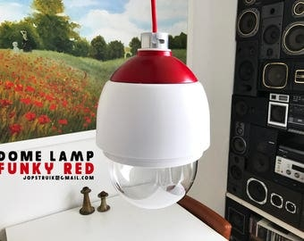 Dome pendant lamp - Funky Red