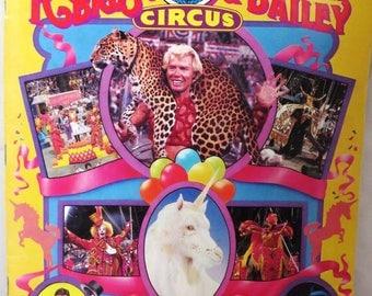 Ringling Bros Barnum & Bailey 1985 Circus Program, Collectible
