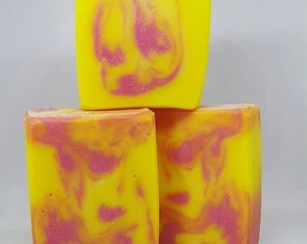 Raspberry Lemonade Handcrafted Soap