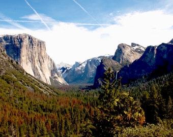 Yosemite Valley Tunnel Outlook