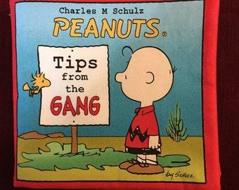 Peanuts Cloth Baby Book