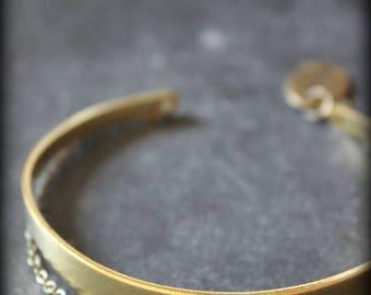 """Shanti"" lapis lazuli bracelet"
