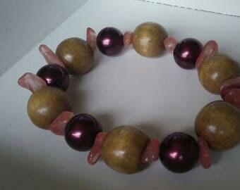 The Pink Cherry Bracelet