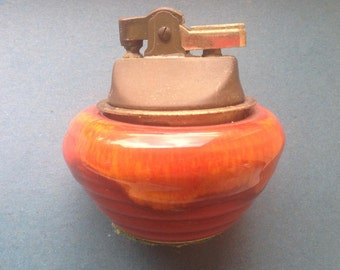 Vintage Ceramic Table Lighter