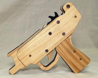 Rubber band gun Mirco Uzi