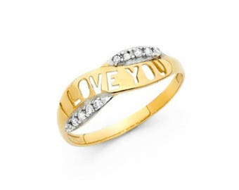 Little Princess 14K Ring