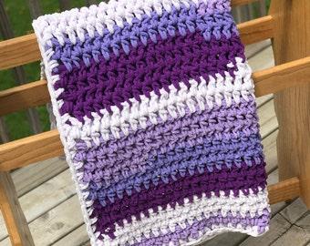 Lavender Love Baby Blanket