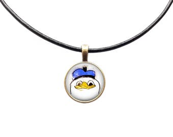 Dolan necklace Meme jewelry Watercolor charm