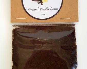 Premium Grade A Ground Madagascar Vanilla Beans