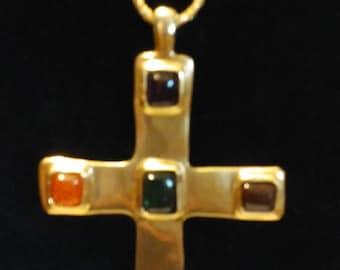 Anne Klein Vintage Cross Necklace