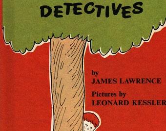 Binky Brothers, Detectives An I Can Read Mystery - James Lawrence - Leonard Kessler - 1968 - Vintage Kids Book