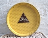 1970s Blatz Plate or Serving Tray Old School Bar Retro 70s 1980s 80s