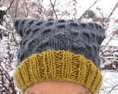 Pussy Hat Hand Knitted Organic Yarn Women's March on Washington