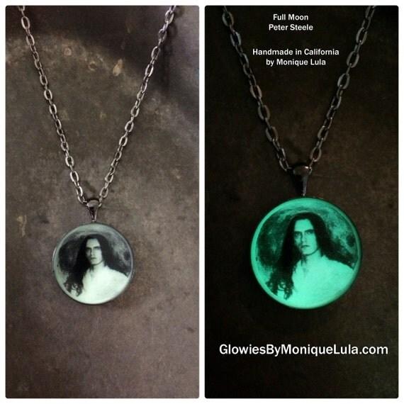 Custom Handmade Glow Necklace