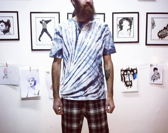 All Twisted Up tie die T shirt in Black | Unisex | Men