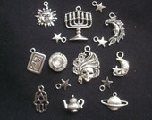 15 Gypsy Fortune Teller Charm Set
