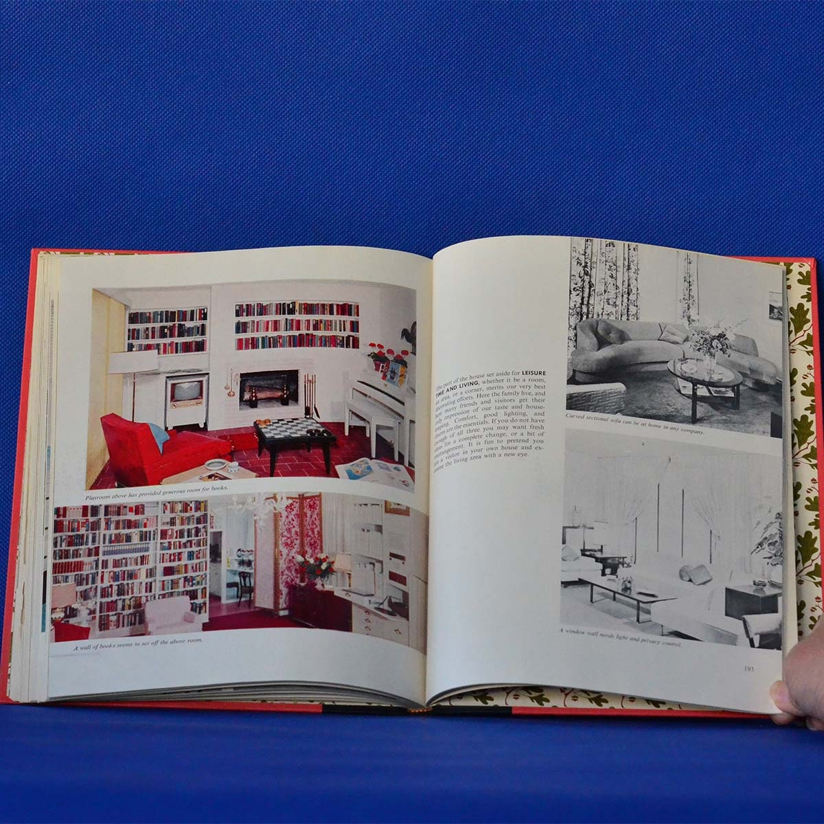 Ladies home journal book of interior decoration by for Interior design decoration book