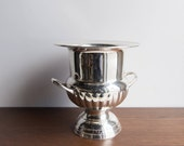 Vintage silver ice bucket or champagne bucket