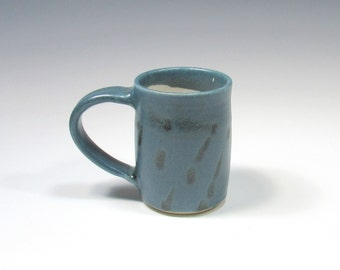 Ceramic Mug - Pottery Mug - Pottery Coffee Mug - Ceramic Coffee Cup - Ceramic Mug - Tea Mug - Blue and White Mug - Large Mug