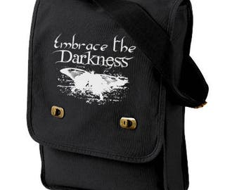 Gothic Butterfly Bag - Embrace the Darkness - gothic lolita pastel goth school bag vampire steampunk butterfly
