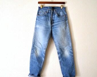 90's Levis 501 Denim Jeans 32 x 34